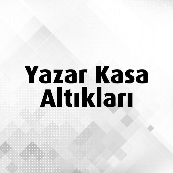 Yazar Kasa Altlıkları