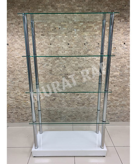 100 cm Camlı Borulu Stand