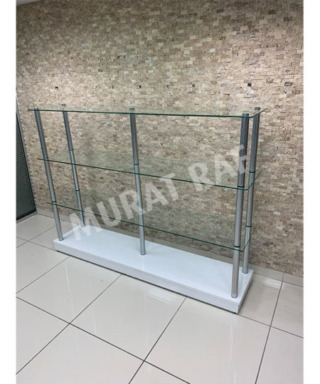 180 cm Camlı Borulu Stand
