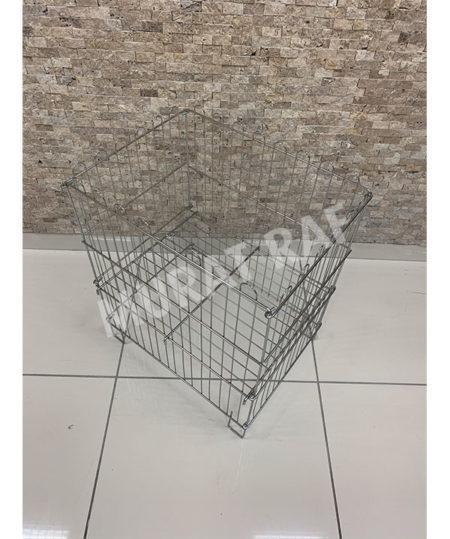 40×53 Katlanabilir Tel Sepet