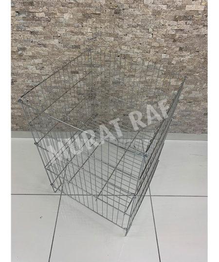 53×53 Katlanabilir Tel Sepet