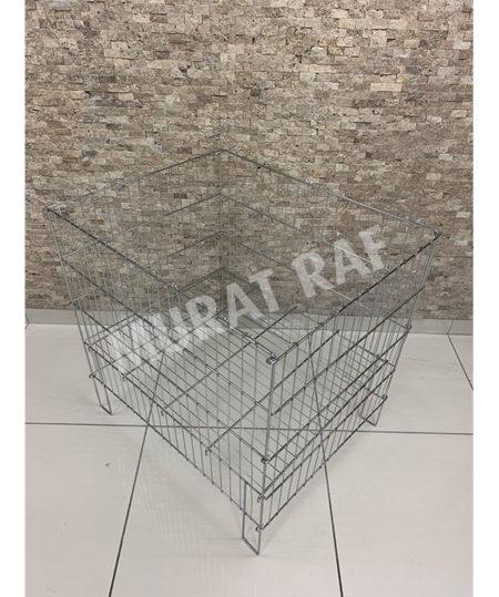 60×80 Katlanabilir Tel Sepet