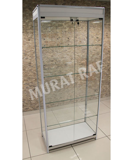 Camlı Vitrin 80 cm